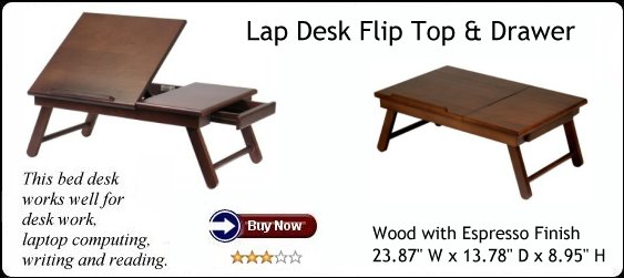 Computer Lap Desk Bed Tray